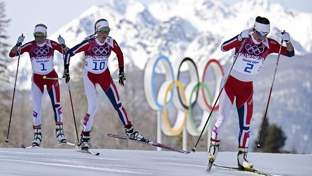 سوتشي 2014 .. النرويج تحتل منصة التتويج للتزلج لمسافة 30 كلم