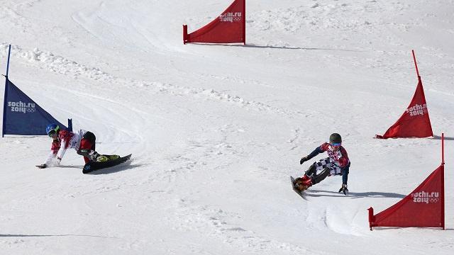 فيك وايلد يهدي روسيا ذهبية التعرج المتوازي في أولمبياد سوتشي