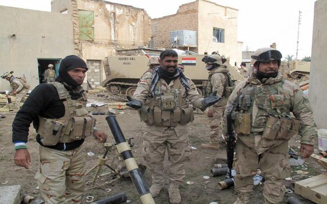القوات العراقية تسترجع منطقة استراتيجية شمال بغداد