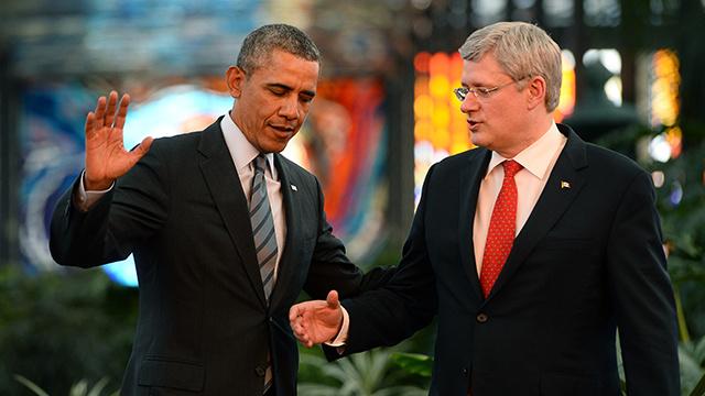 رئيس الحكومة الكندية يطالب أوباما بصندوقي بيرة