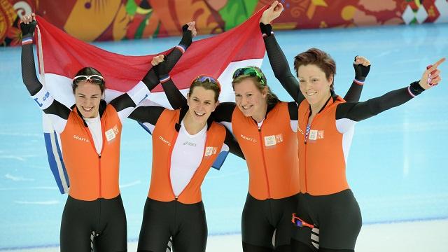 أولمبياد سوتشي .. هولندا تحتكر الميداليات الذهبية للتزحلق السريع على الجليد