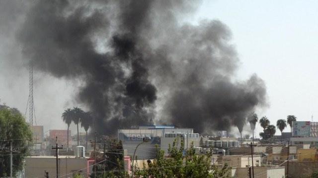 مسلحون يسقطون مروحية تابعة للجيش العراقي
