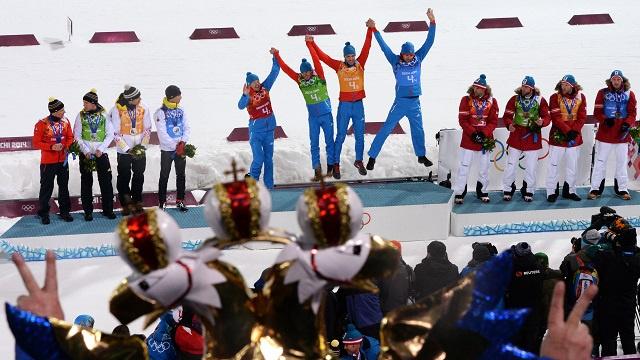 بالصور .. أبطال اليوم الخامس عشر في أولمبياد سوتشي 2014