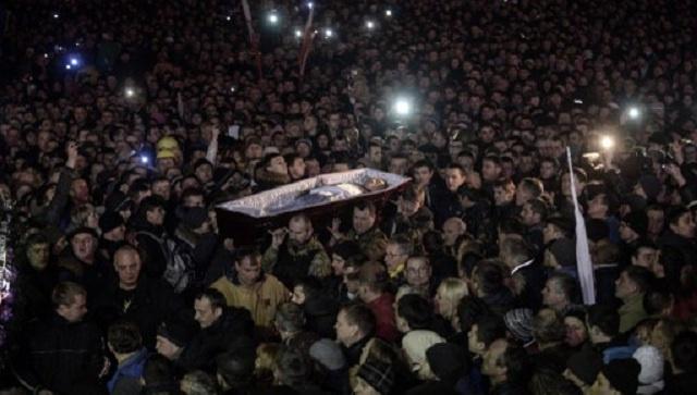 كتلة حزب الأقاليم البرلمانية تحمّل يانوكوفيتش كامل المسؤولية عن سقوط الضحايا