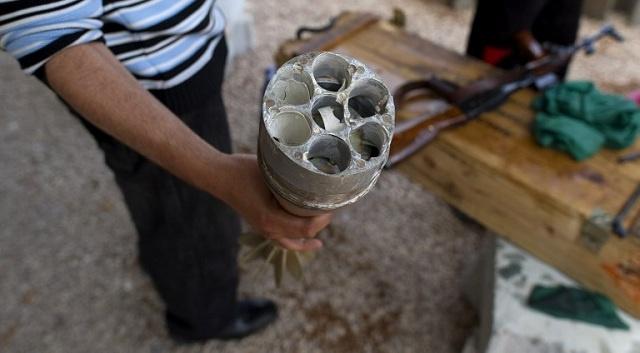 سقوط قذيفة على مقر المؤتمر الوطني العام في ليبيا