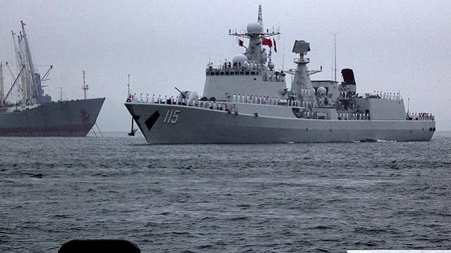 مناورات بحرية روسية صينية أواخر مايو