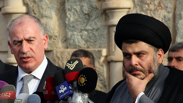 النجيفي يدعو مقتدى الصدر إلى العدول عن قرار إعتزال الحياة السياسية