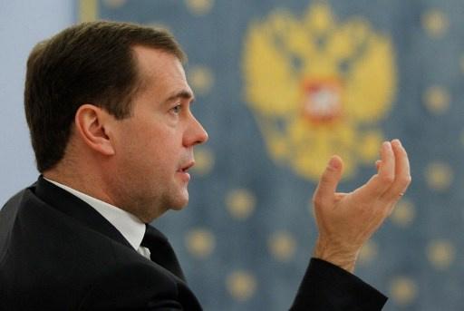 مدفيديف: اعتراف بعض الدول بشرعية أجهزة السلطة الجديدة في اوكرانيا بمثابة
