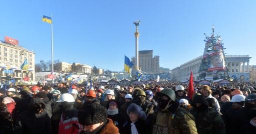 واشنطن تعتبر يانوكوفيتش فقد الشرعية ومستقبل اوكرانيا يحدده الشعب
