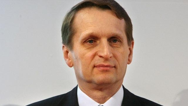 رئيس مجلس الدوما الروسي: آمل بخروج الشعب الأوكراني من دوامة العنف
