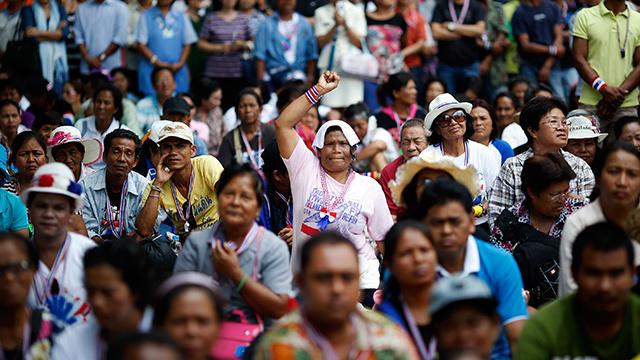 تراجع معدلات التجارة والسياحة في تايلاند نتيجة للاحتجاجات المناهضة للحكومة