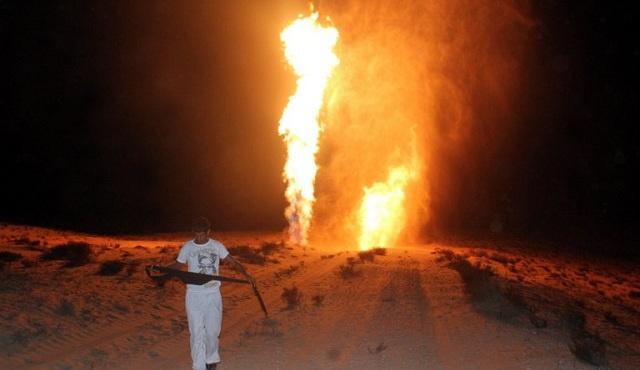 تفجير خط الغاز المؤدي إلى منطقة الصناعات الثقيلة جنوب العريش للمرة الخامسة خلال شهرين