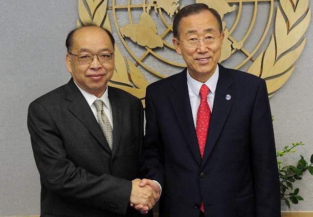 القائم بأعمال رئاسة الوزراء التايلاندي يبحث مع الأمم المتحدة سبل الخروج من الأزمة