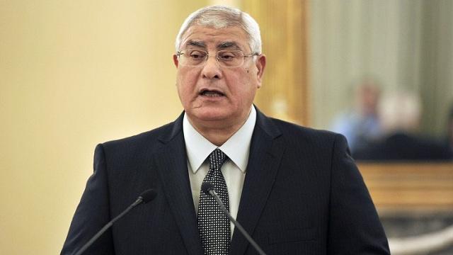 عدلي منصور ينشئ مجلسا للأمن القومي برئاسته وعضوية 8 وزراء