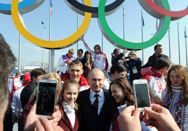 شعبية بوتين ترتفع بعد أولمبياد سوتشي