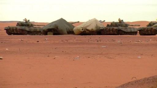 الجيش الجزائري يحبط عملية تهريب عتاد عسكري على الحدود مع ليبيا