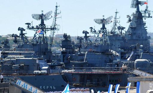 الخارجية الروسية: اسطول البحر الاسود في اوكرانيا يتقيد بالاتفاقيات الموقعة