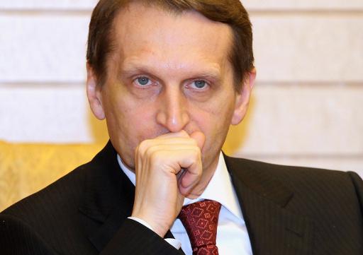 ناريشكين: السلطات الاوكرانية السابقة ارتكبت الكثير من الاخطاء لكن خلعها غير دستوري