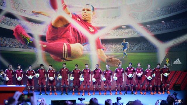 روسيا تواجه المغرب عشية مونديال البرازيل 2014