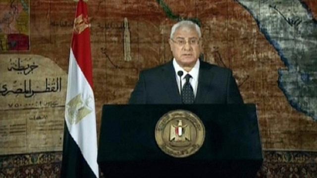 عدلي منصور يصدر قرارات جمهورية بتشكيل مجلس الدفاع الوطني