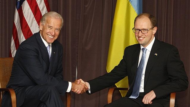 بايدن: الولايات المتحدة ستدعم حكومة أوكرانيا الجديدة