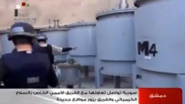 تقرير أممي: قوافل الكيميائي السوري تعرضت لهجومين نهاية الشهر الماضي