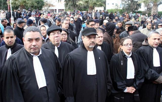 تونس: هيئة المحامين تدعو إلى جلسة طارئة بعد إحالة 5 محامين الى التحقيق