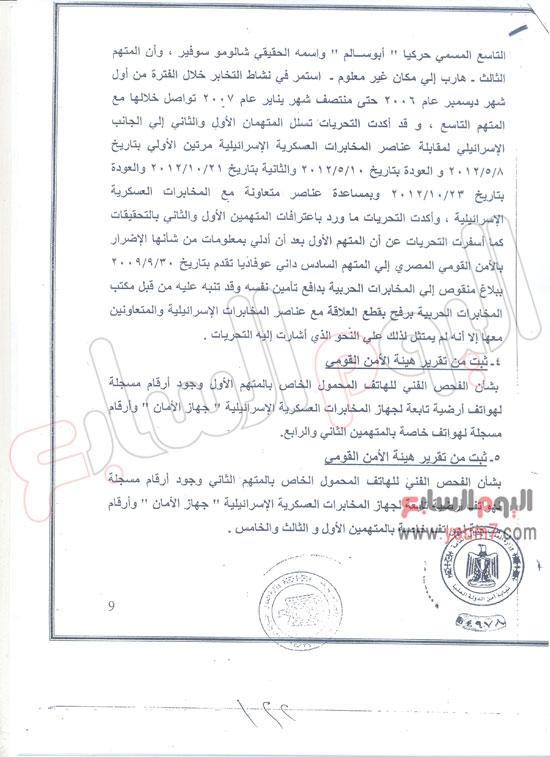 صور وأسماء وتفاصيل جديدة حول الجواسيس المصريين المتعاونين مع اسرائيل
