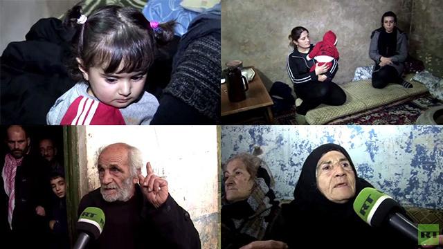 RT تنقل شهادات الناجين من أهالي بلدة عدرا العمالية بريف دمشق