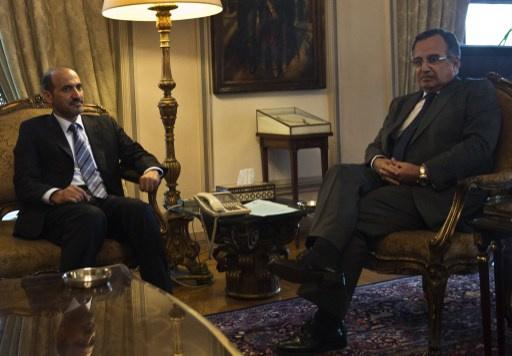 الجربا يتهم وفد الحكومة السورية الى جنيف بالمراوغة وعدم المصداقية