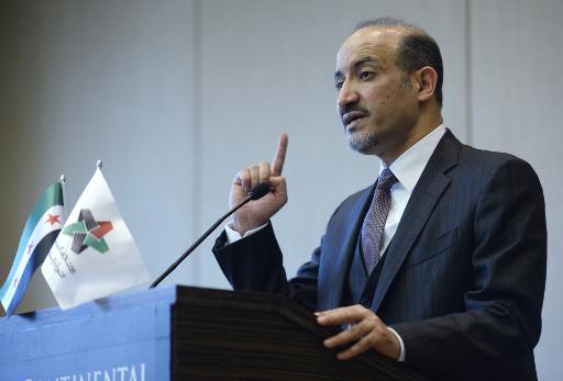 الجربا: سورية تتعرض لغزو بربري والائتلاف لم يلب طموحات الشعب