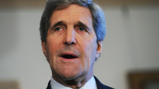 كيري: التوتر الروسي-الأمريكي حول أوكرانيا يجب ألا يؤثر في تنفيذ برنامج إتلاف الكيميائي السوري