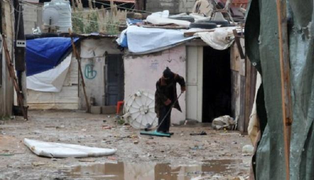 لاجئة سورية تضرم النار في نفسها أمام مقر الأمم المتحدة في طرابلس اللبنانية