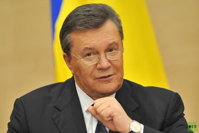 النائب العام الروسي: لا توجد أسس قانونية لتسليم يانوكوفيتش الرئيس الشرعي لأوكرانيا