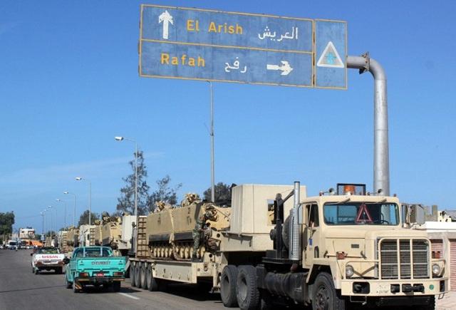 مقتل 3 تكفيريين في قصف للجيش المصري بشمال سيناء