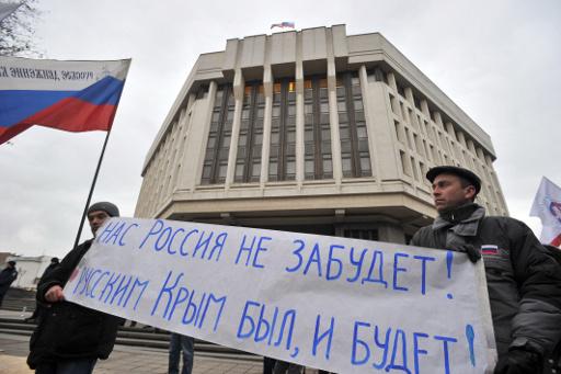 مجلس الاتحاد الروسي لا يستبعد ادخال قوات محدودة الى القرم لحماية المواطنين الروس