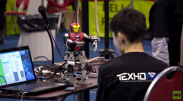 مهرجان الروبوتات الراقصة في موسكو (فيديو)