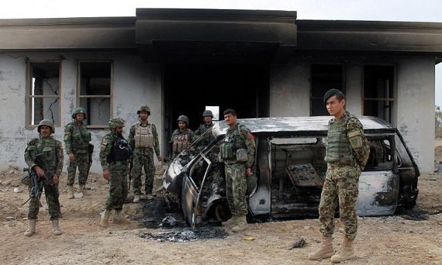 مقتل 14 شخصا في هجمات إنتحارية بأفغانستان