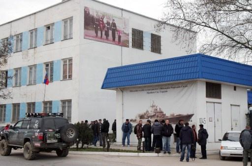 وكالة نوفوستي تنفي قيام العسكريين الروس باقتحام وحدة تابعة للبحرية الاوكرانية
