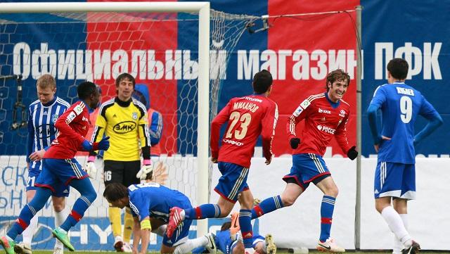 تسيسكا موسكو يواصل مشوار الدفاع عن لقب بطل كأس روسيا