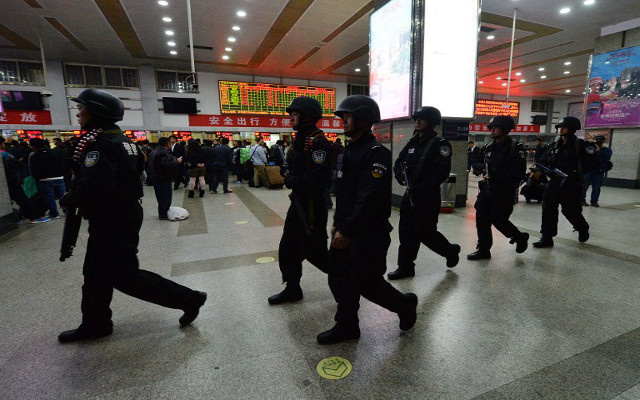 الشرطة الصينية توقف 3 أشخاص يشتبه بتورطهم في هجوم كونمينغ