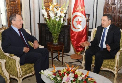 لافروف: روسيا وتونس اتفقتا على تكثيف الحوار السياسي