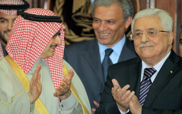 الأمير الوليد بن طلال يؤكد دعمه لأي توجه يخدم الفلسطينيين