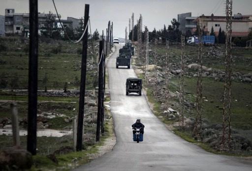 الطيران السوري يغير 3 مرات على عرسال اللبنانية