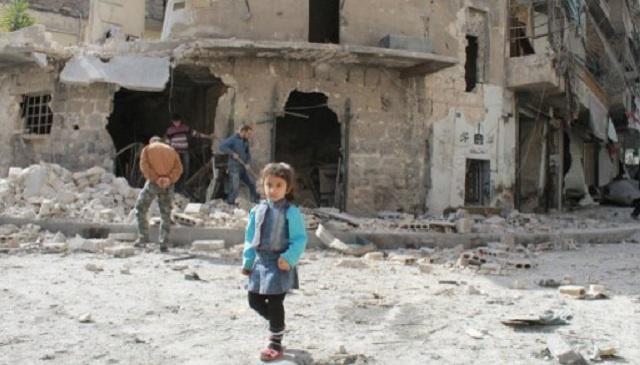 تقرير أممي يحمل الحكومة والمعارضة في سورية مسؤولية محاصرة 250 ألف شخص