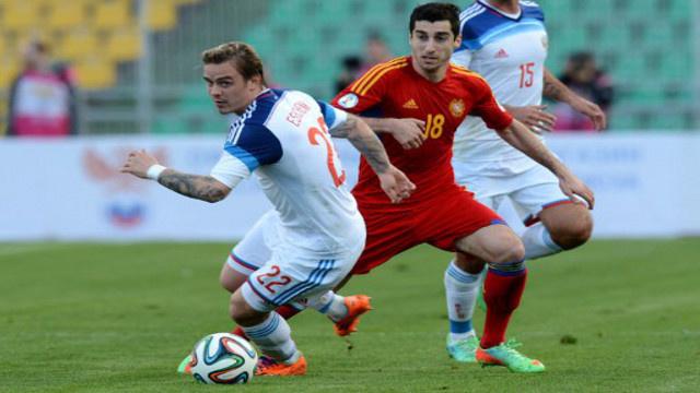 المنتخب الروسي يفوز على نظيره الأرمني بهدفين نظيفين