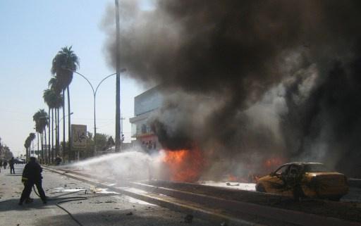 مراسلنا: 4 قتلى و22 جريحا في انفجار سيارة مفخخة عند مدخل حماة الجنوبي