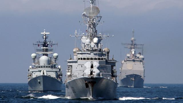روسيا تشارك في المناورات البحرية