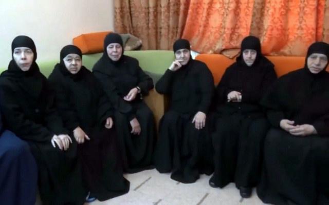ا ف ب: فقدان الاتصال براهبات معلولا المحتجزات في منطقة القلمون بسورية