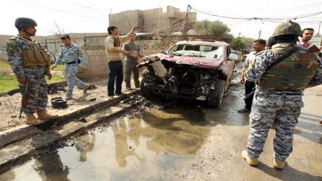 مقتل 26 شخصا وإصابة عشرات في سلسلة تفجيرات بالعراق